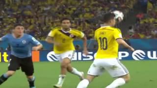 اهداف مباراة كولومبيا 2-0 الاوروغواي مونديال كأس العالم دور ال16 2014 HD فهد العتيبي
