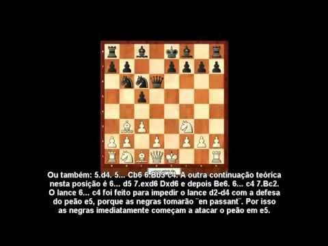 Catástrofes em aberturas. Defesa Siciliana Variante Alapin português bras . HD