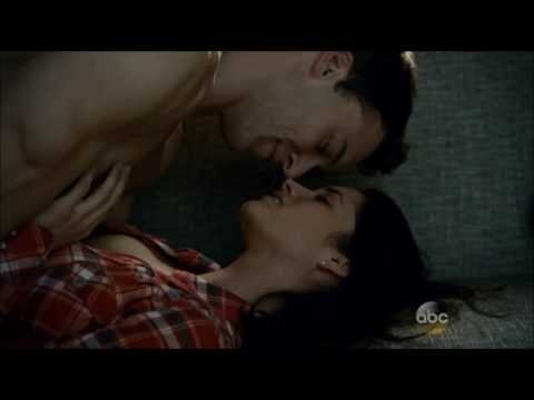 Rookie Blue 4x9 Nick and Andy get it on