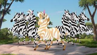 Lion Guard: Fabulous Dhahabu song | The Golden Zebra  HD Clip