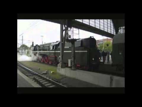 Dampflok BR 02 201-0  in Lübeck am 16.05.2015