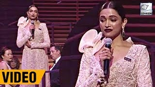 Deepika Padukone's Full Speech At Time's 100 Most Influential People in 2018 | LehrenTV
