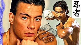 Tony Jaa VS Van Damme! ☯| Kickboxer vs Muay Thai - TRAINING Ong Bak Versus Blood Sport Tributeᴴᴰ