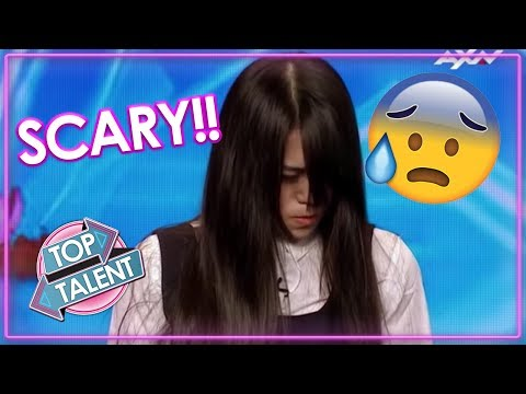 TERRIFYING TALENT Freaky Magician GIRL Scares Judges & Audience On Asia s Got Talent