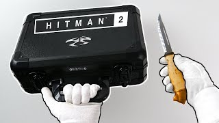 Unboxing Hitman 2 Ultra Rare Press Kit (Limited PS4 Collector