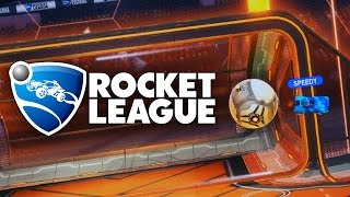 BUTT GOAL! | Rocket League Ranked 3's with Speedy and Shadow