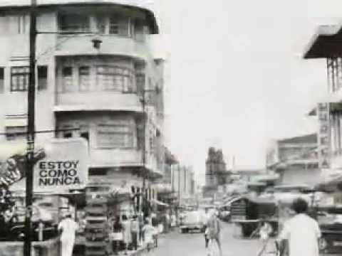 Imágenes de Managua antes de Terremoto de 1972