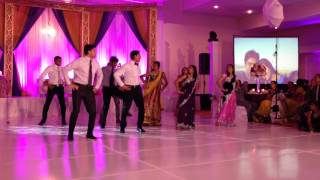Keyur and Parika Reception Dance