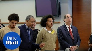 12 suspects appear in Bronx court in 'Justice for Junior' case