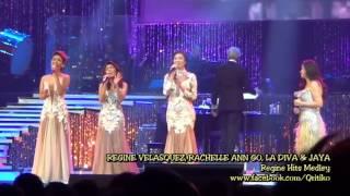 Regine Velasquez with GMA Divas - RVA Medley (SILVER...Rewind! January 5, 2013)