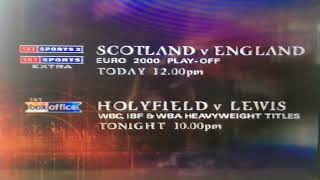 Sky Sports 1 - Good Morning Sports Fans, Saturday 13th November 1999