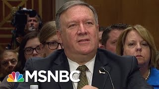 """Fmr Press Secy: Pompeo Withholding North Korea Meeting Is """"Problematic""""   Velshi & Ruhle   MSNBC"""