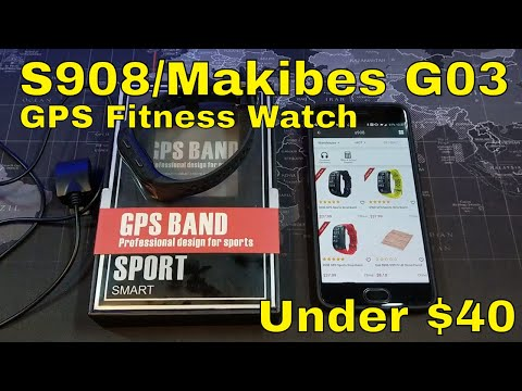 S908 / Makibes G03 - GPS Smartwatch/Activity Tracker - Only $40!
