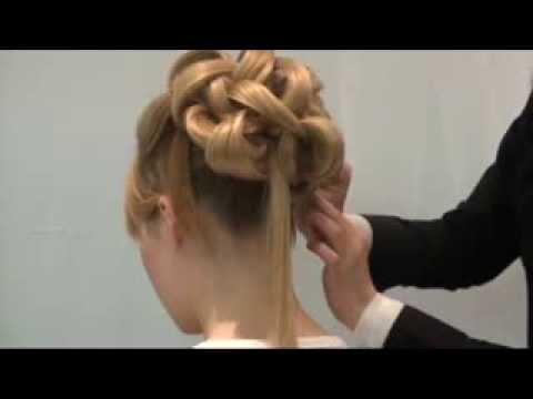 Amazing Wedding Upstyle With Elegant Curls.