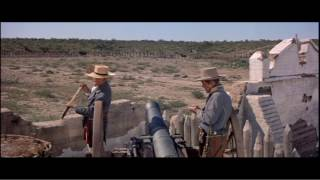 The Alamo (1960) - Massing Troops