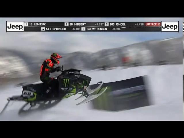 X Games Heat 2 2017 snocross