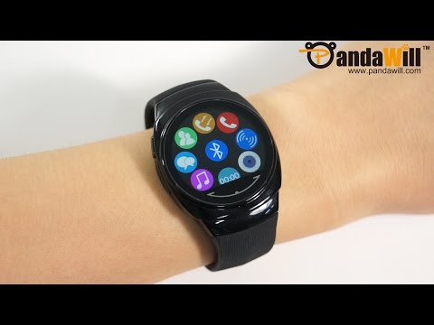UWATCH UO  1.3'' Water-proof Smart Watch with Remote Control - Hands On
