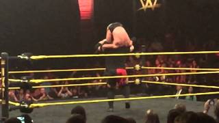 Samoa Joe Muscle Buster in Slow Motion