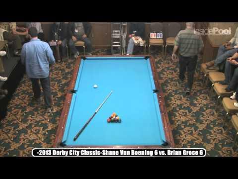 2013 DCC Shane Van Boening vs Brian Groce Bigfoot 10 Ball Part 2