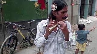 Bamboo Flute Music Bangladesh - Street Flute Player - Bashiwala Singer | বাঁশিওয়ালা