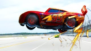 Cars 3 Full McQueen Crash Scene Remake