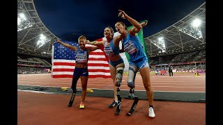Women's 100m T42   Final   London 2017 World Para Athletics Championships