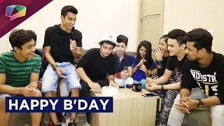 Sumedh Mudgalkar celebrates his birthday with his friends
