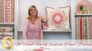 No Hand-Sewing English Paper Piecing | a Shabby Fabrics Quilting Tutorial