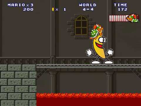 Peanut Butter Gelly Time Ultra Big Banana in Super Mario