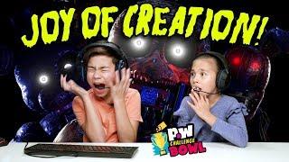 EvanTubeHD VS HobbyKidsTV - THE JOY OF CREATION - SCARY!!! pocket.watch Challenge Bowl 2018!