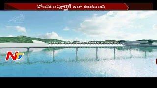 TDP Leaders Release Polavaram Project 3D Animation Video || NTV