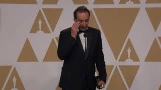 """""""The Shape of Water"""" - Best Score - Oscars 2018 - Alexandre Desplat - Full Backstage Interview"""