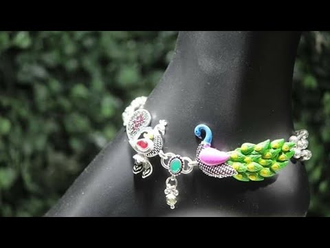 Xxx Mp4 पायल डिजाइन Latest Anklet Designs 2018 Silver Payal Payal Design 3gp Sex