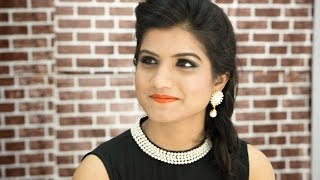 Quick Summer Makeup For Party  in HINDI : simple way to do makeup at home