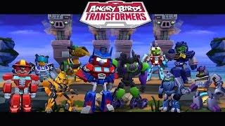 Angry Birds Transformers - All Transformers Unlocked Gameplay Walkthrough #26