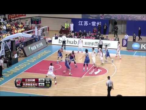 Sani Sakakini 48 points 22 rebounds in china(2016)