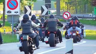 Harley Davidson Breakout Friends Meeting 08.05.16 (Love Ride Zurich/Switzerland)