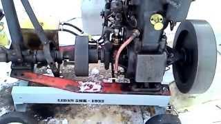 Lidan 5hk hot bulb engine