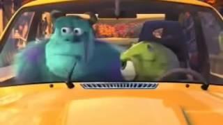 El coche nuevo de Mike Corto Pixar  Animados