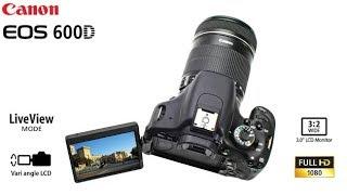 Canon EOS 600D Digital SLR Camera Price Bangladesh