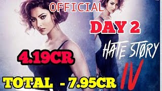 HATE STORY 4 BOX OFFICE COLLECTIONS DAY 2 | INDIA | URVASHI RAUTELA