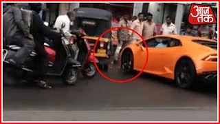Mumbai: BJP MLA's Wife Rams Lamborghini Into Auto