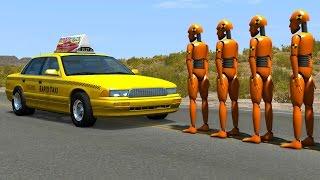CARS VS. DUMMIES - BeamNG drive