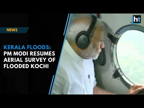 Xxx Mp4 Kerala Floods PM Modi Resumes Aerial Survey Of Flooded Kochi After Aborted First Attempt 3gp Sex