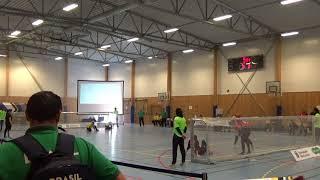 2018 Goalball World Championships Brazil v Canada 1st Half