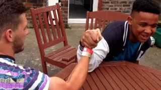 15 Year Old Beats 25 Year Old In Intense Arm Wrestle