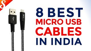 8 Best Micro USB cables in India with Price | Fast Charging Cables