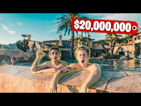 This Mansion Has a BACKYARD WATERPARK Richest Kid In America