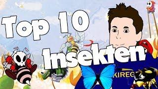 Meine Top 15 Insekten aus Videospielen - Ameisen, Bienen, Käfer, Schmetterlinge etc.
