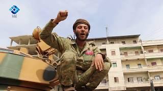 احد عناصر الجيش الحر يعود الى بيته في عفرين بعد ثمانية سنوات من خروجه منه
